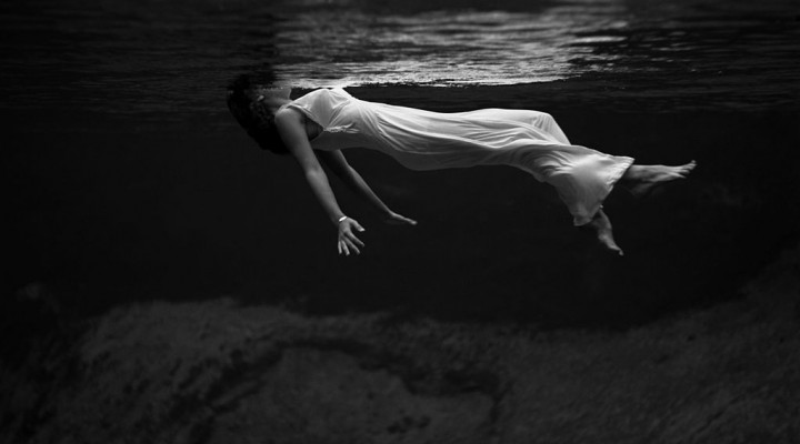 Lady In The Water By Toni Frissell