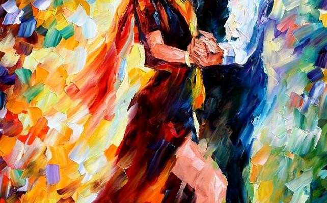 Romantic Tango by Leonid Afremov