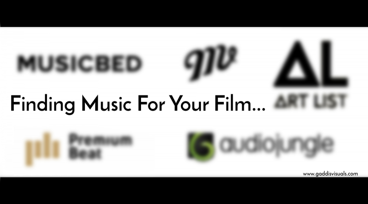 Music License – find music for your film.
