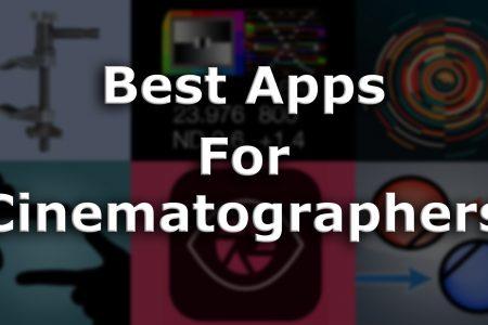 bestappsforcinematographers