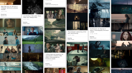My Pinterest Cinematography Inspiration Board.
