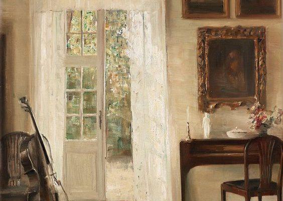 Carl Holsoe – Interior with a Cello