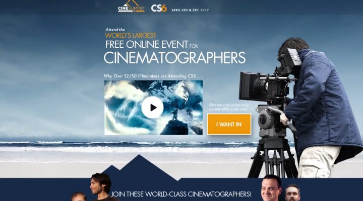 Sign up for CineSummit 2017