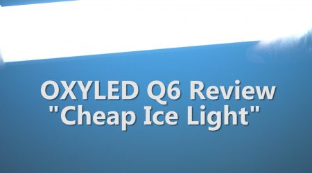 "OXYLED Q6 – ""Cheap Ice Light"""